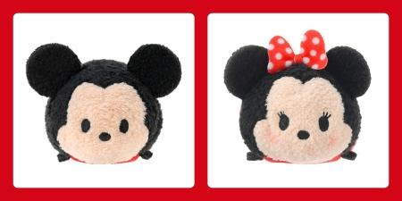 Mickey & Minnie Tsum Tsum