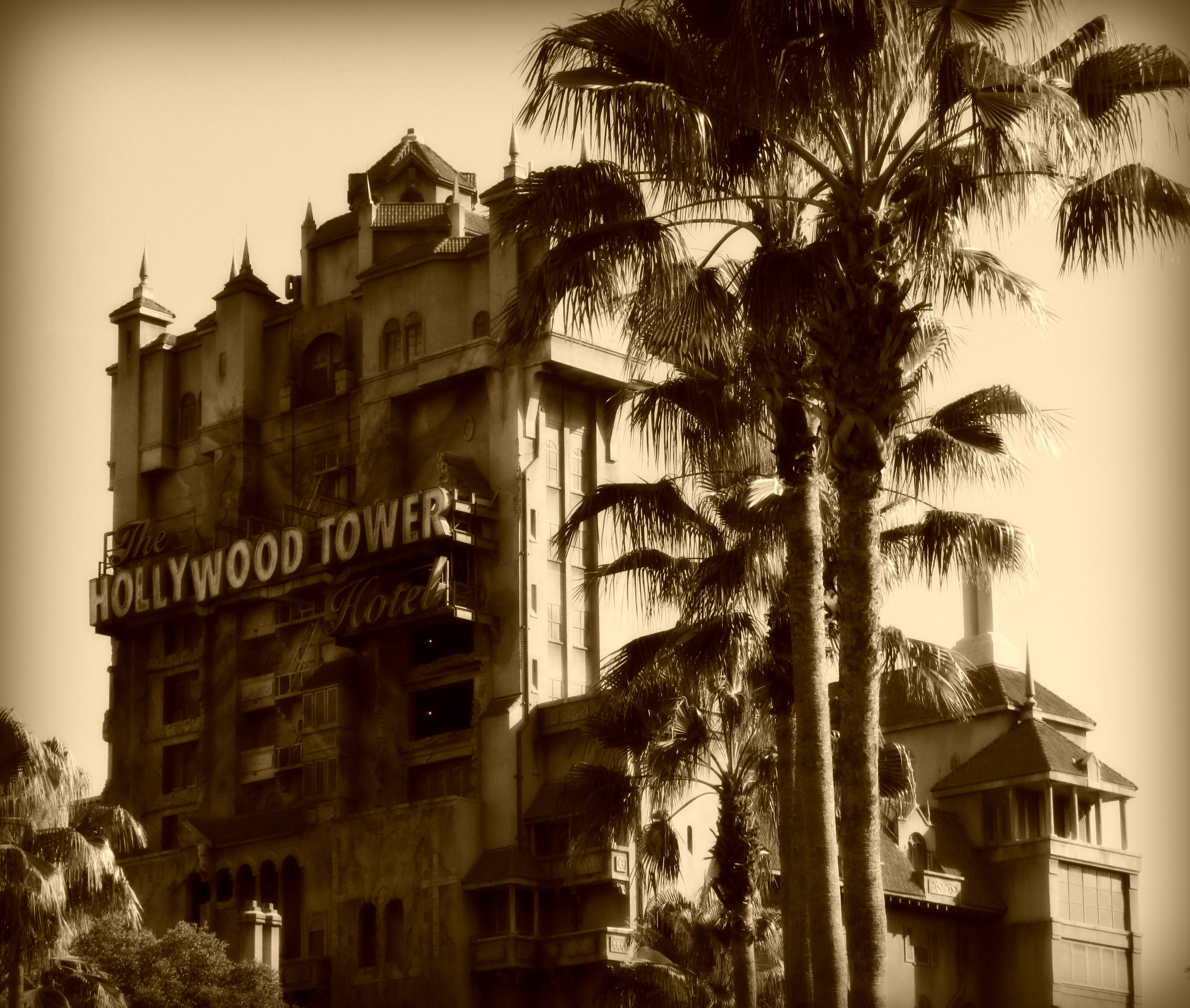 Tower Of Terror Disney World Inside