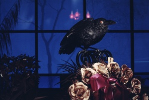 Haunted Mansion Raven