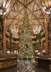 Animal Kingdom Lodge Christmas Tree