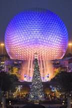 Epcot Christmas Tree
