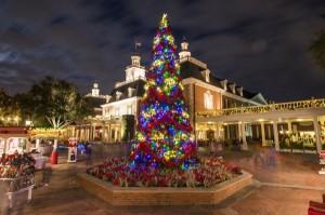 American Adventure Christmas Tree