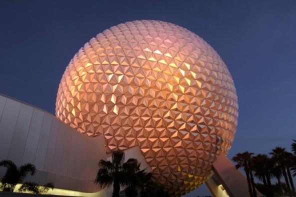 spaceship-earth-at-night