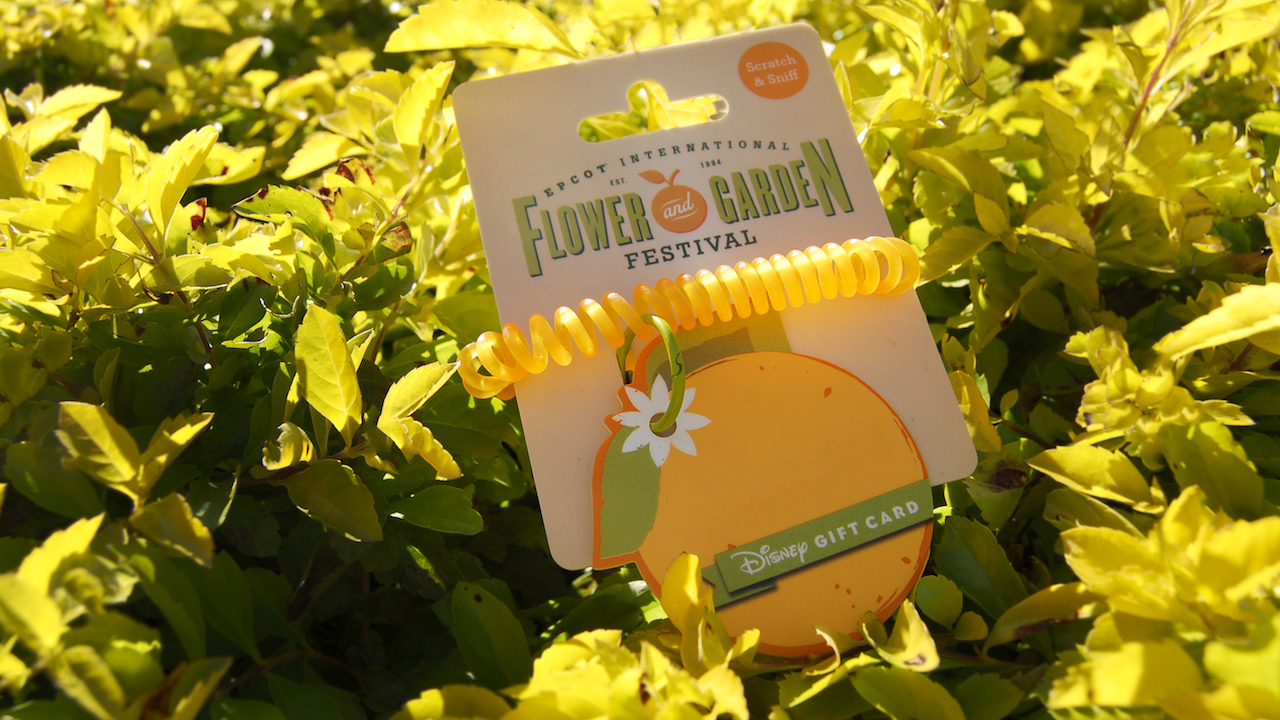 Epcot 2017 International Flower Garden Festival Themed Gift Card Disney World Enthusiast