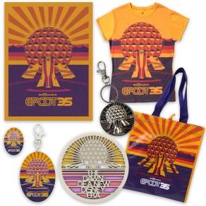 Epcot 35th Merchandise 1