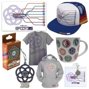 Epcot 35th Merchandise 5