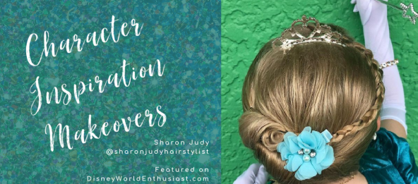 Character Inspiration Makeovers - Sharon Judy