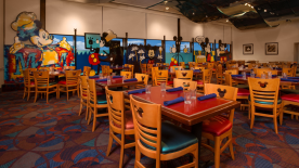 Chef Mickey's Dinner 7