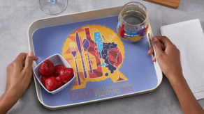 Food and Wine Tray