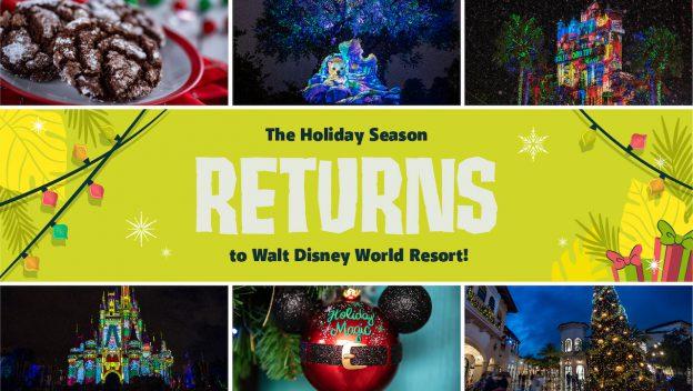 Holidays Return To Walt Disney World